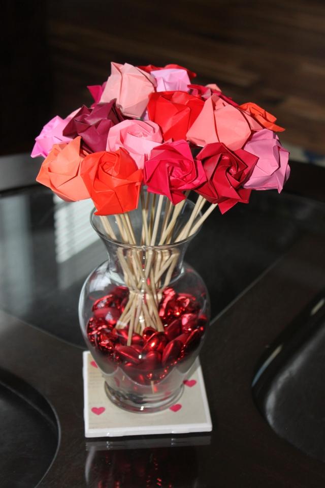 Oragami Roses (2)