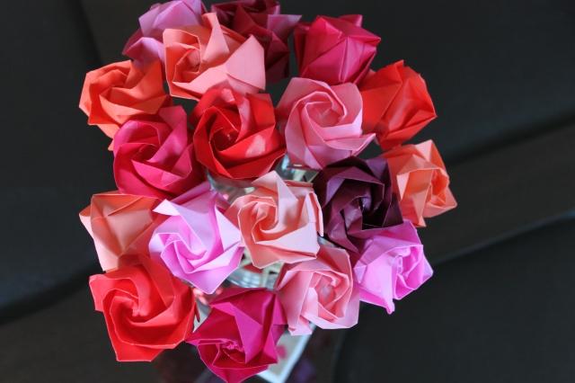 Oragami Roses
