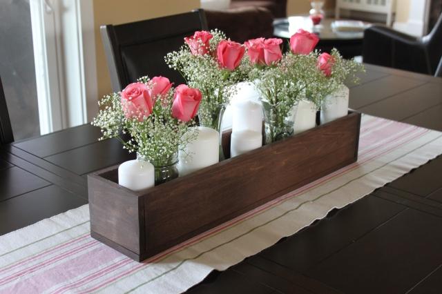 Rose Candle Centerpiece (1)