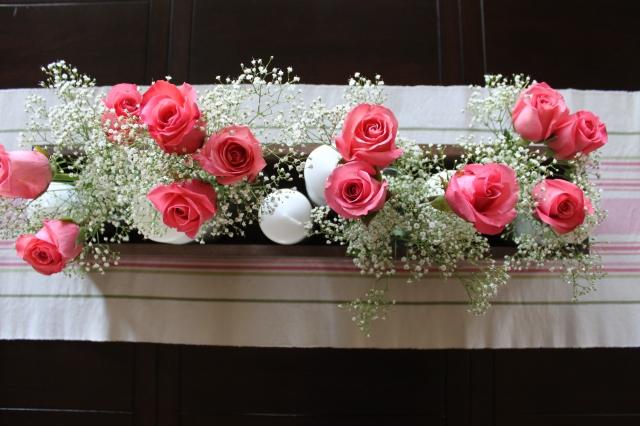 Rose Candle Centerpiece (2)