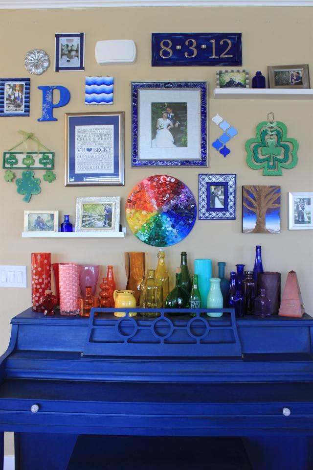 Rainbow Bottle Display