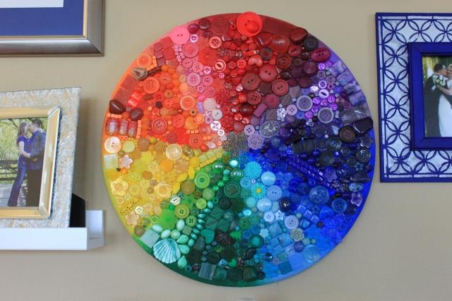 Rainbow bead board