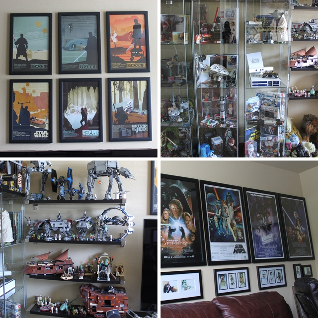 Man Cave 4 Square collage