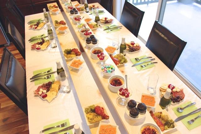 Mini Food Dinner Party  2