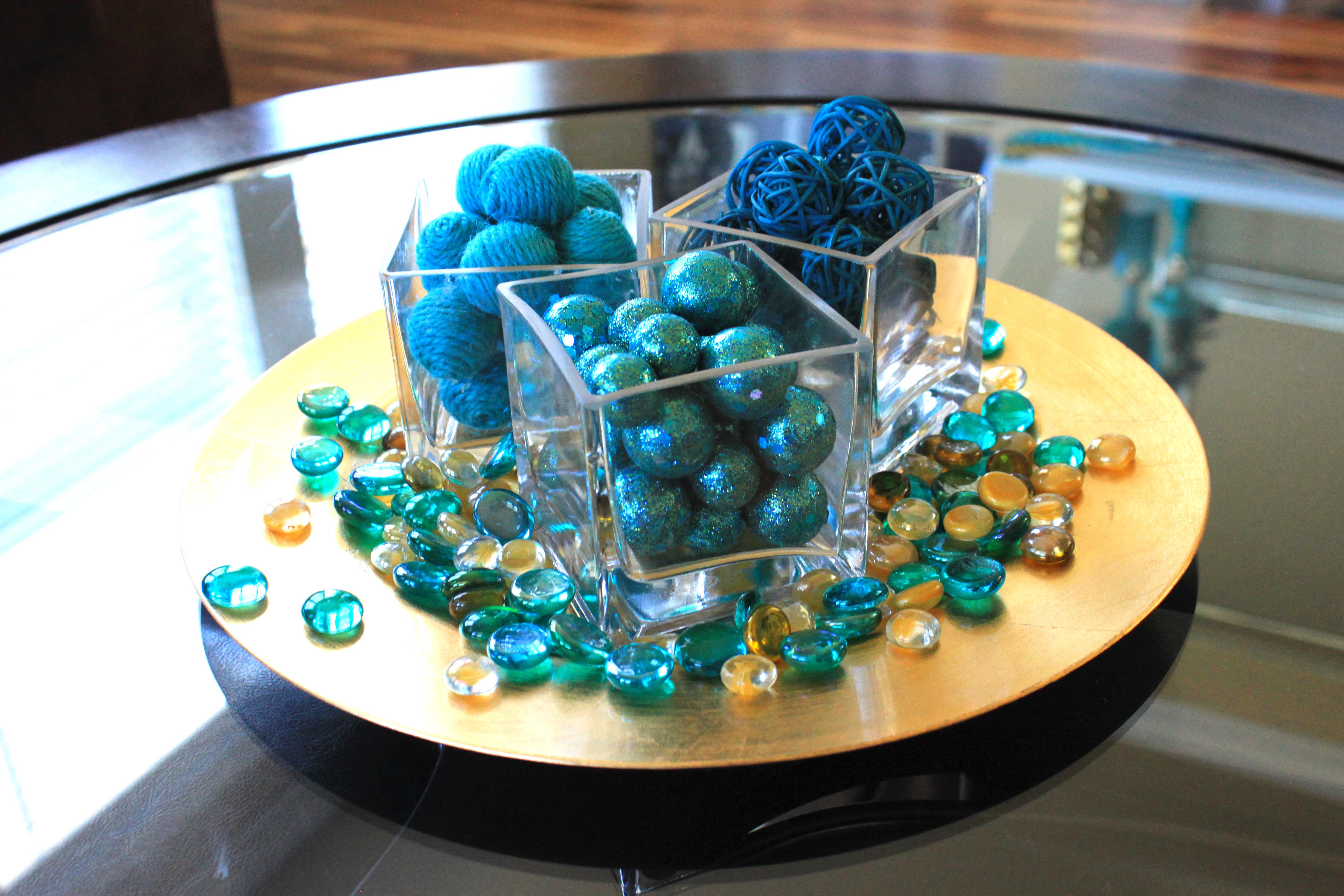 Turquoise And Gold Decor Instadecor