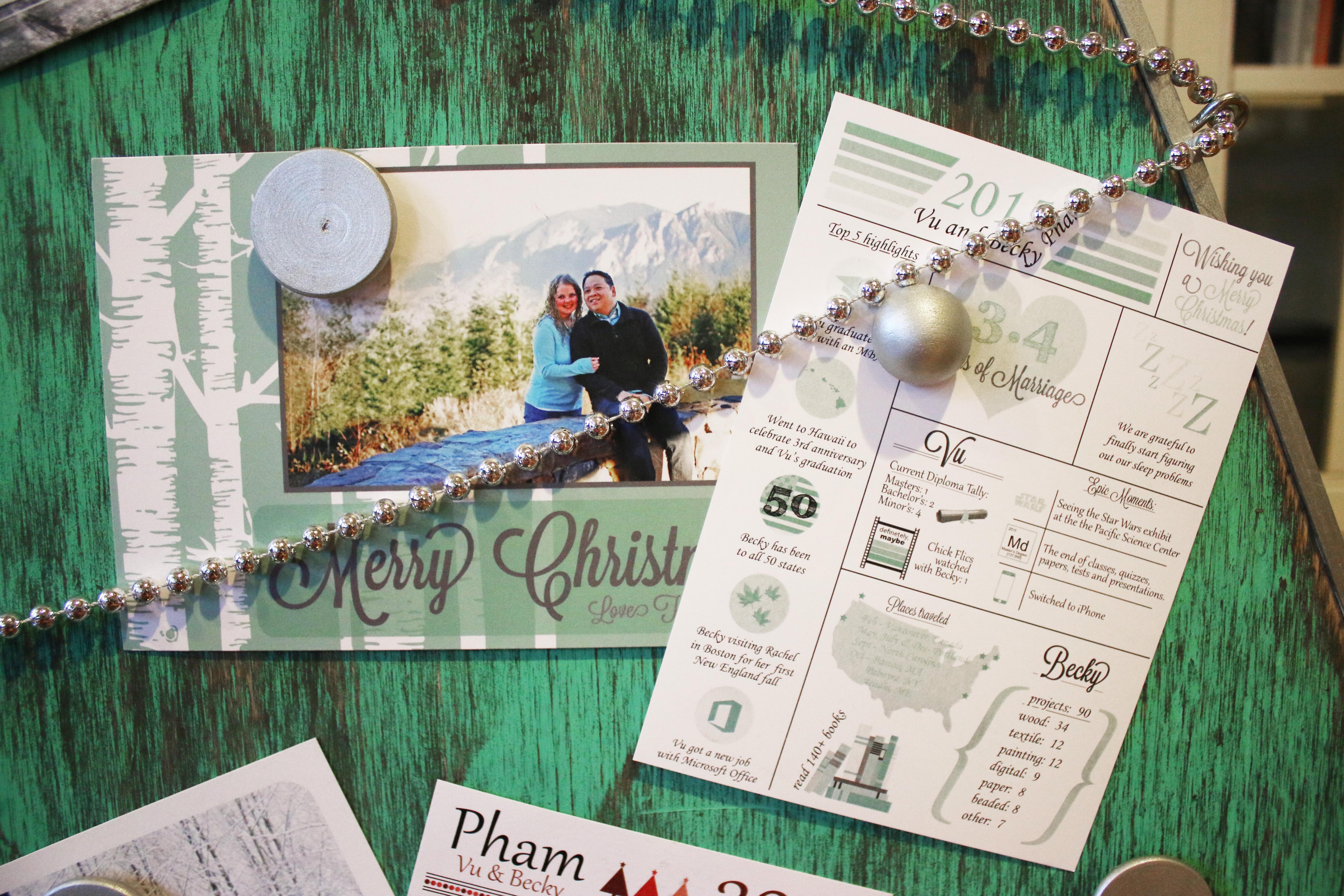 Christmas Cards 2017 | Becky Jael